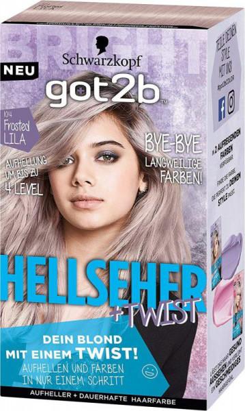 Got2b Aufheller Haarfarbe Hellsehertwist 104 Frosted Lila Www Mein
